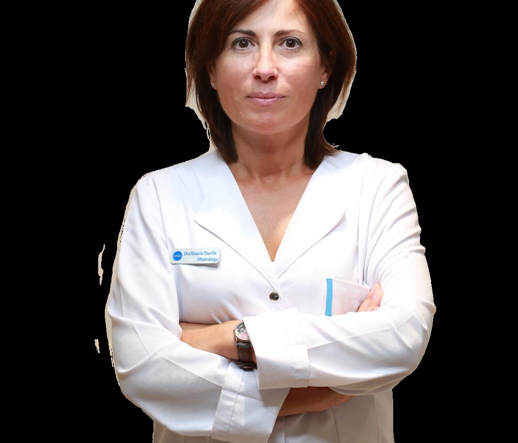 Dra Rosario Touriño Oftalmologa Vista Gutierrez amoros a Coruña